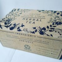 Grow Your Own Herbal Tea Kit WITH A FREE BAG OF LOOSE LEAF TEA