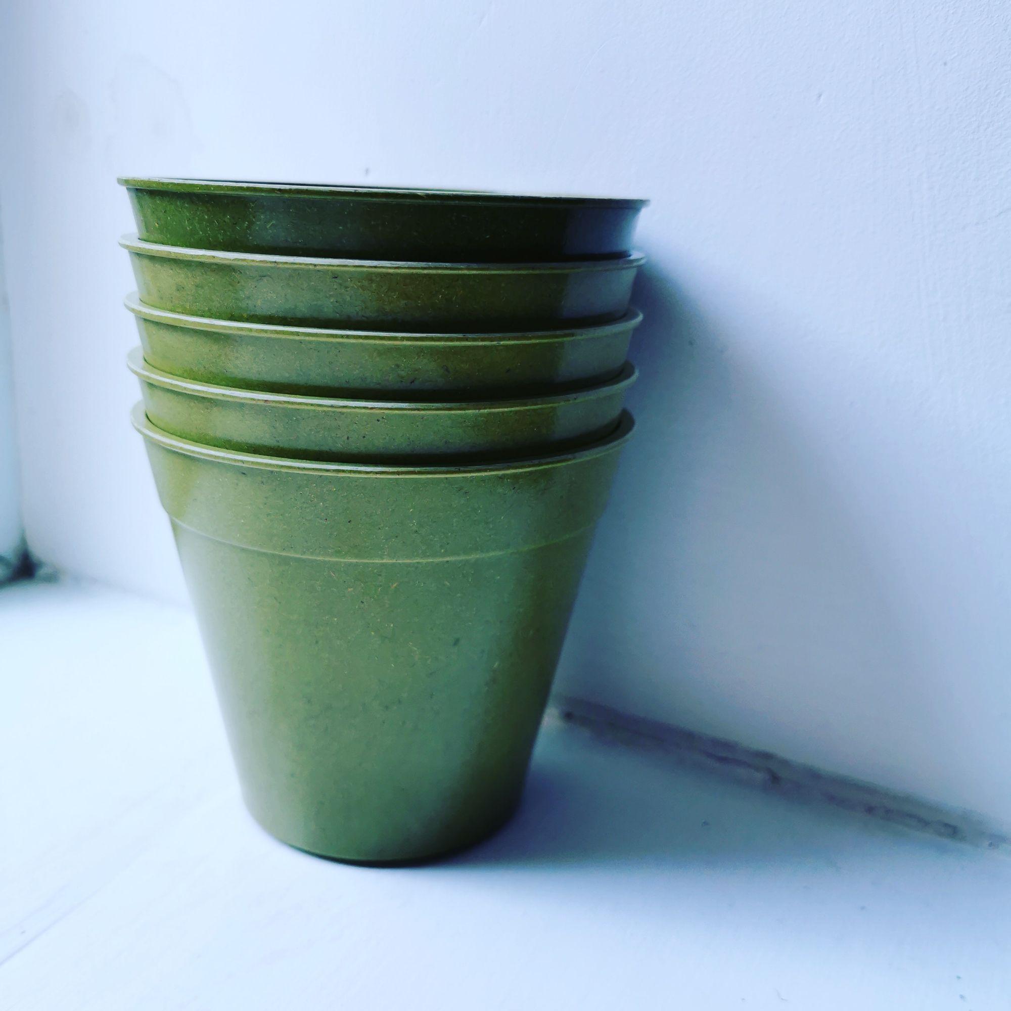 Bamboo Pots