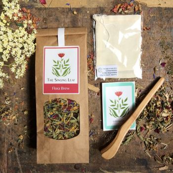Loose Leaf Tea Starter set by The Singing Leaf