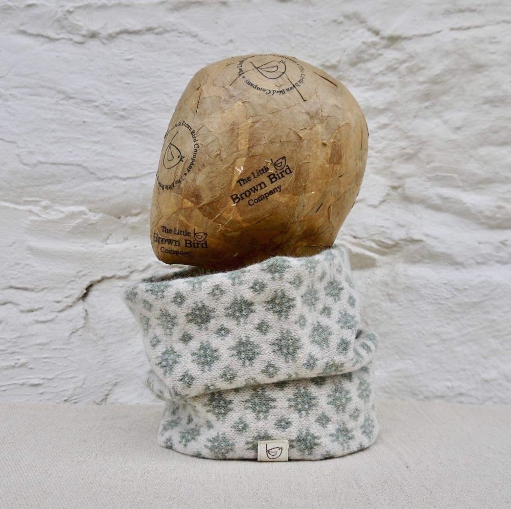 Lambs Wool Snood (Welsh Tapestry) by The Little Brown Bird Company