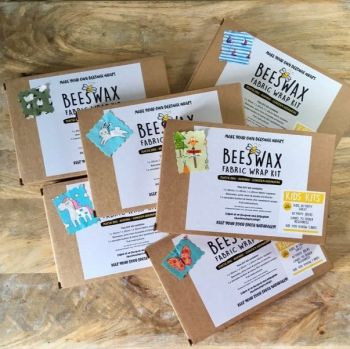 DIY Beeswax Wrap Kit for Kids