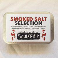Smoked Salt Selection Tin by Welsh Homestead Smokery
