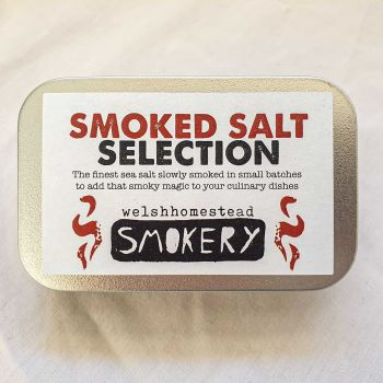 Smoked Salt Selection Tin by Welsh Homestead Smokery