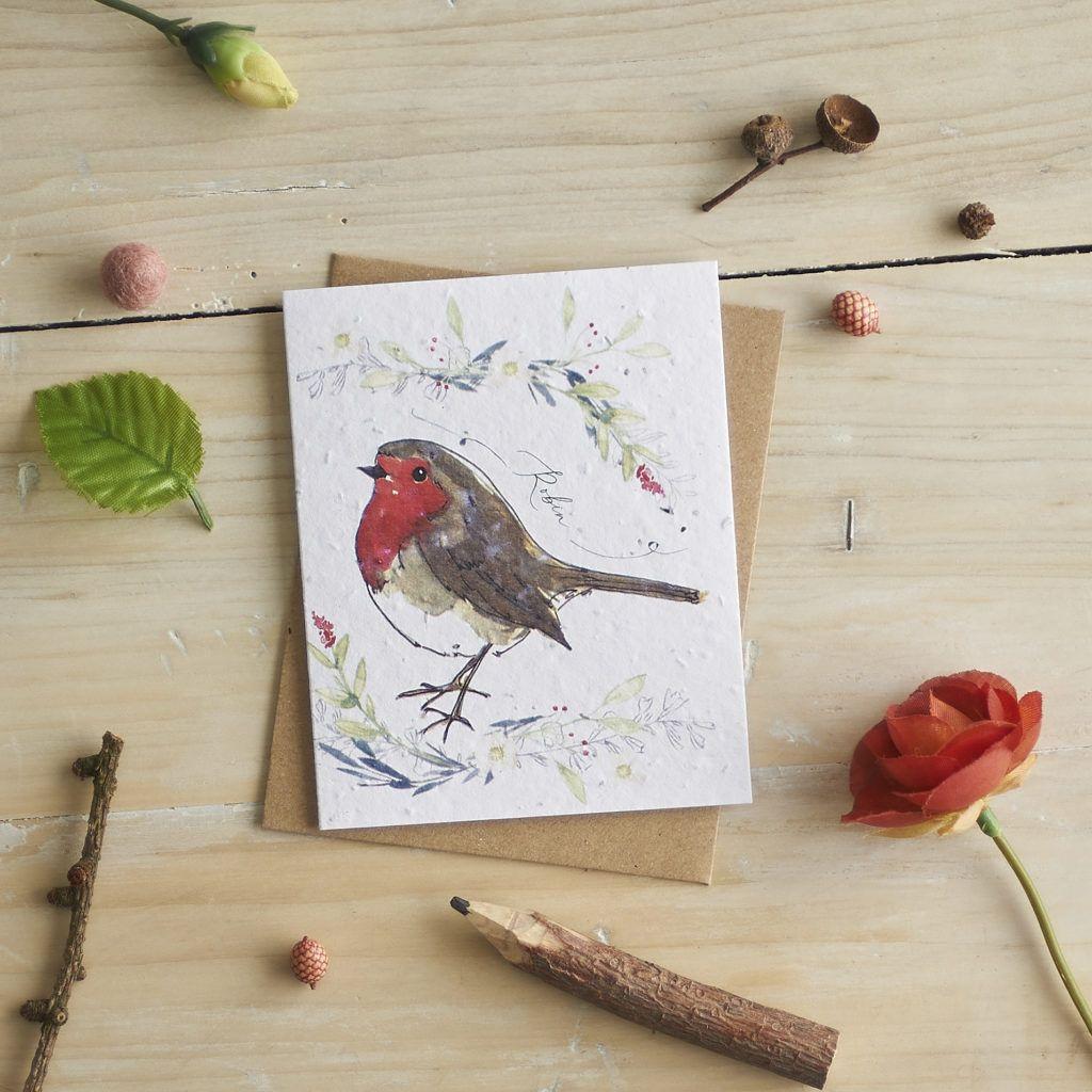 Robin Card  by Hannah Marchant