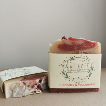 Cranberry and Peppermint Soap