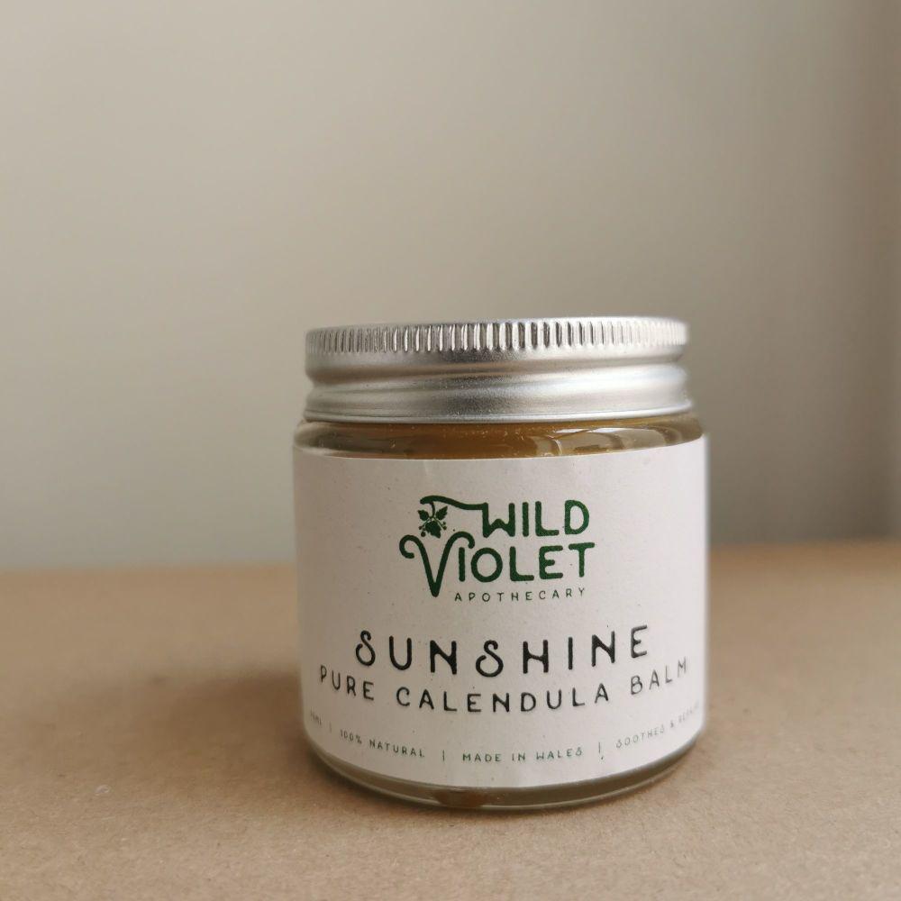 Sunshine - Pure Calendula Balm by Wild Violet Apothecary