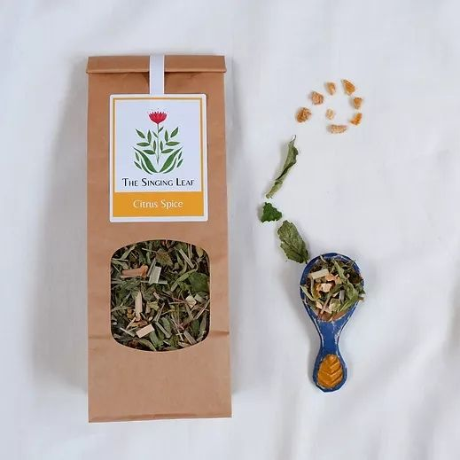 Citrus Spice Tea by The Singing Leaf
