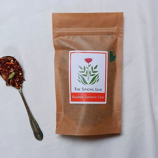Rooibos Turmeric Chai Tea by The Singing Leaf