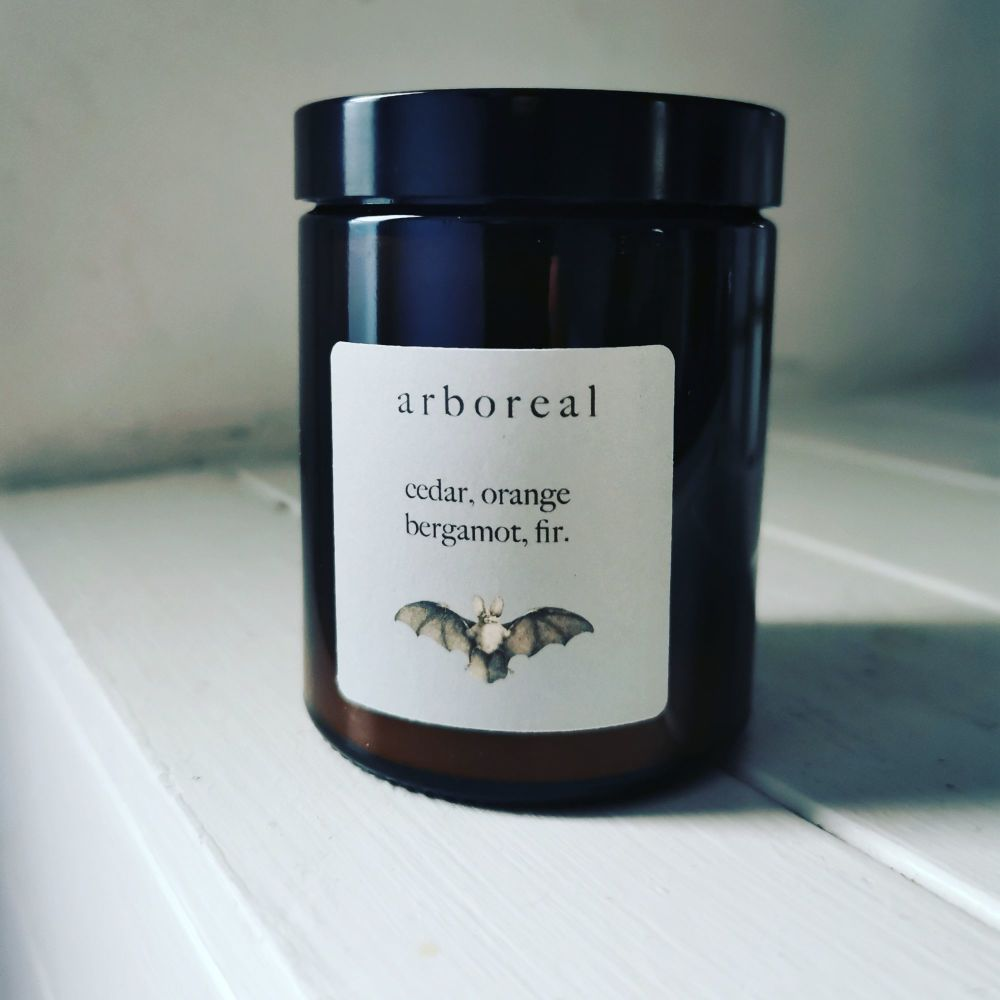 Arboreal Candle by Into The Gathering Dusk