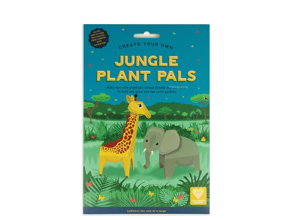 Create You Own Jungle Pals by Clockwork Soldier