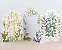 Glasshouse Concertina Card by Paperwhale