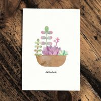 Botanics Card - Succulents by Paperwhale