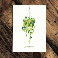 Botanics Card - Philodendron by Paperwhale