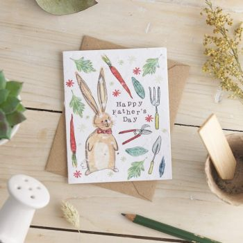 Happy Father's Day Card by Hannah Marchant