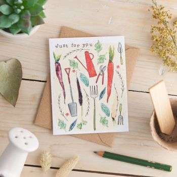 Just for You Card by Hannah Marchant