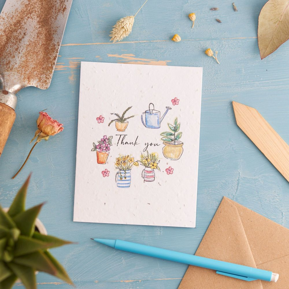 Thank You Card by Hannah Marchant