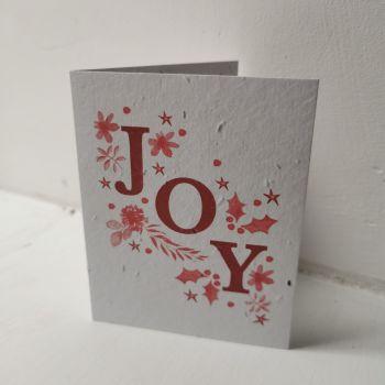 Joy Card by Hannah Marchant