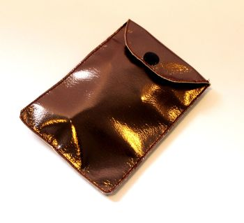 Bronze Metallic Pouch