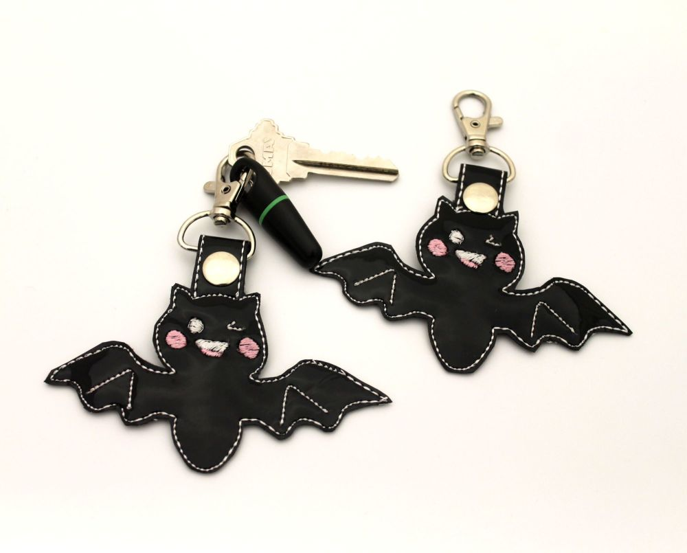 Kawaii Bat Bag charm / Key Ring