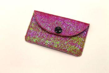 Mermaid Braid Pink Card Holder