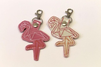 Origami Flamingos
