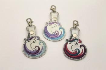 Rainbow Unicorn Bag Charm