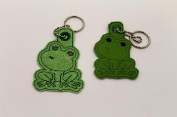 Frog Bag Charm