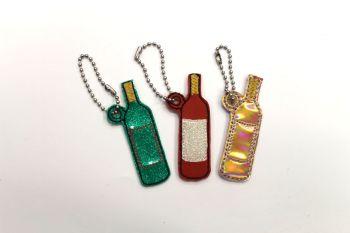 Wine bottle charm