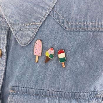 Ice Cream Pin Set