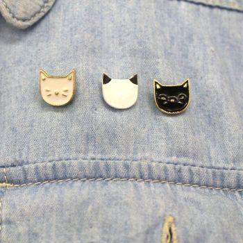 Trio Of Cat Pins