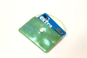 Green Shimmer Card Holder