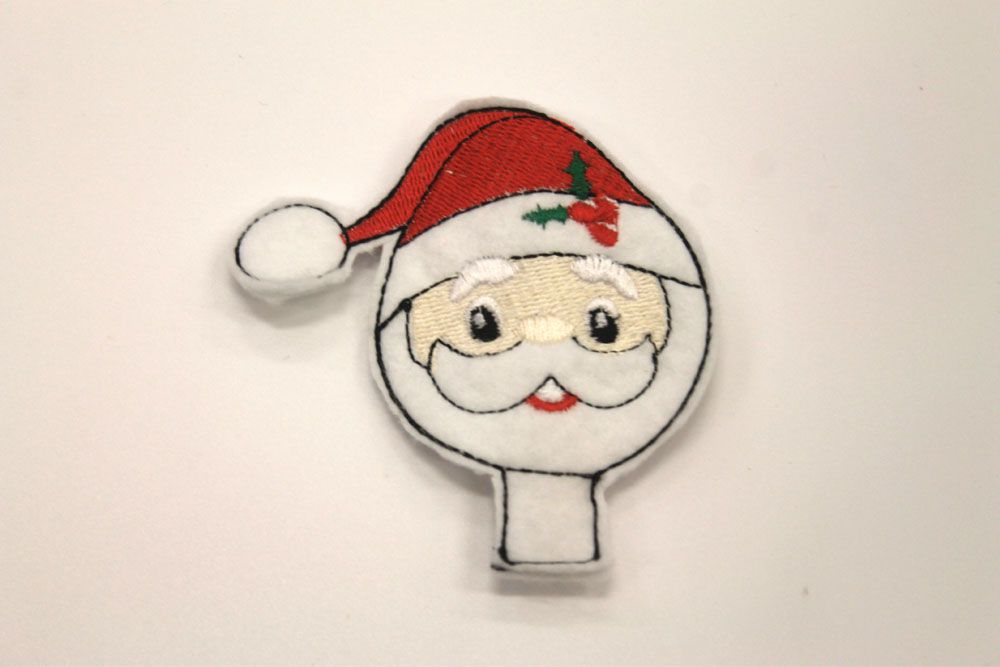 Santa Claus Pencil Topper