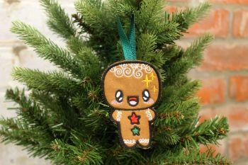 kawaii Gingerbread Man