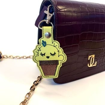 Cute Cactus Bag charm