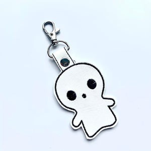 Ghost Keyring , spooky bag Charm