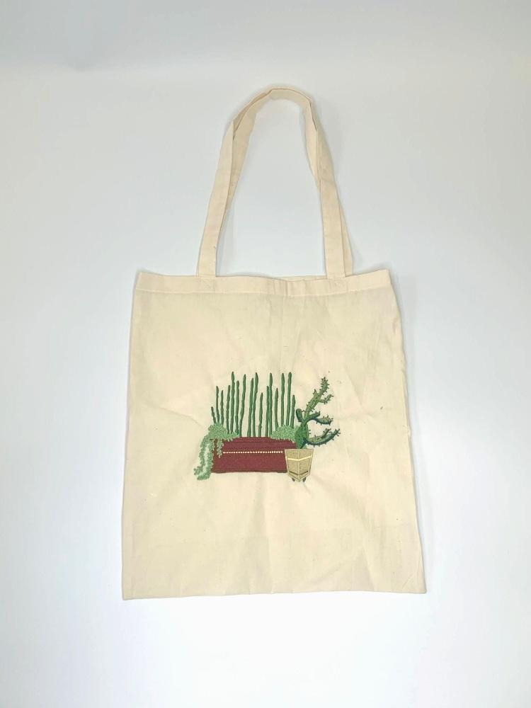 Cactus Shopper Bag
