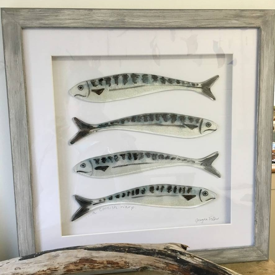 Large Cornish Fish Series Mackerel Frames