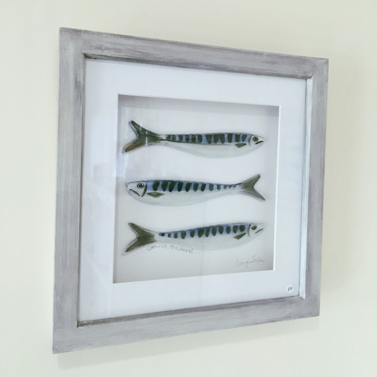 Medium Cornish Fish Series Mackerel Frames
