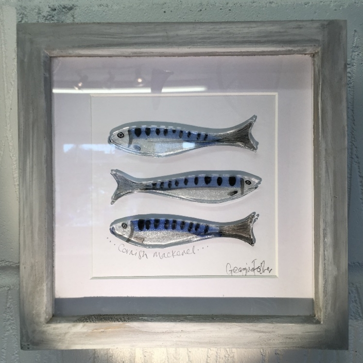 Mini Cornish Fish Series Mackerel Frames