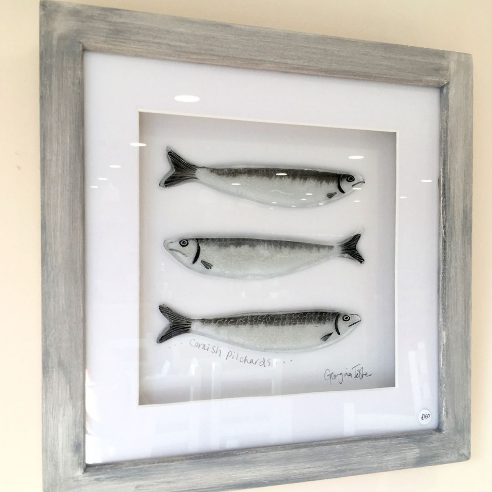 Medium Cornish Fish Series Pilchard Frames
