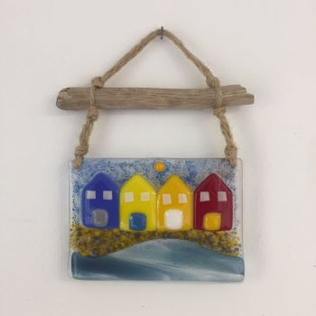 Beach Hut Driftwood Hangings
