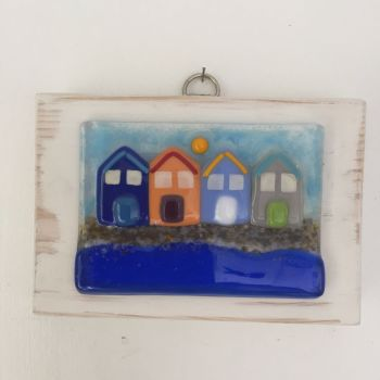 Beach Hut Wall Art