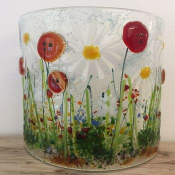 Summer Meadow Curved Scene