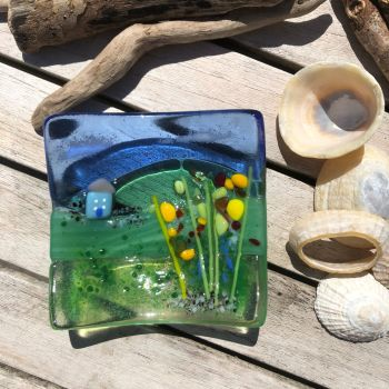 Little House on the Hill trinket dish