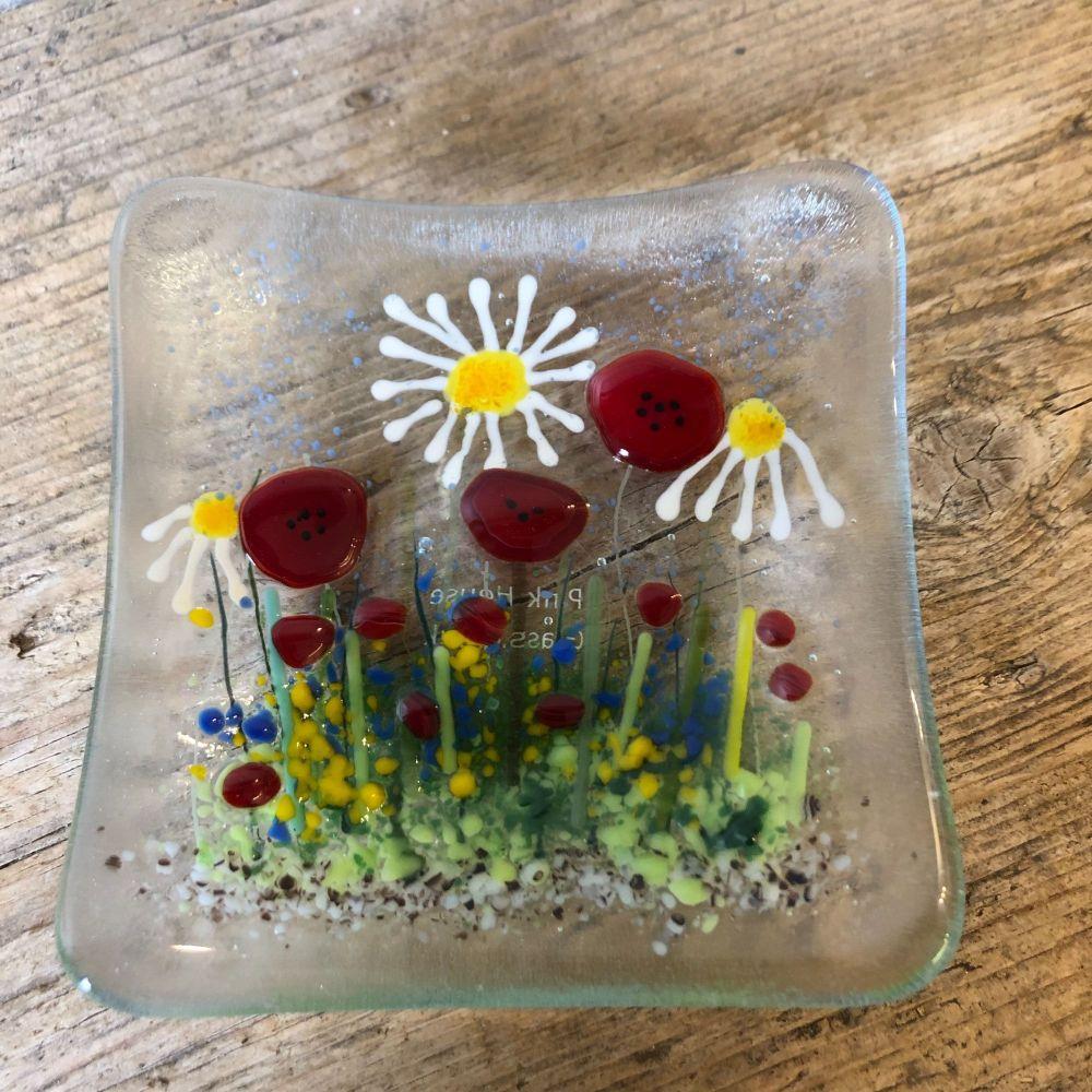 Summer meadow trinket dish