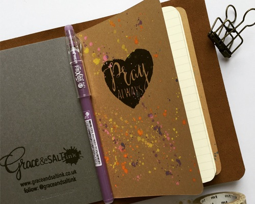 Pocket Prayer Journal in inkDori