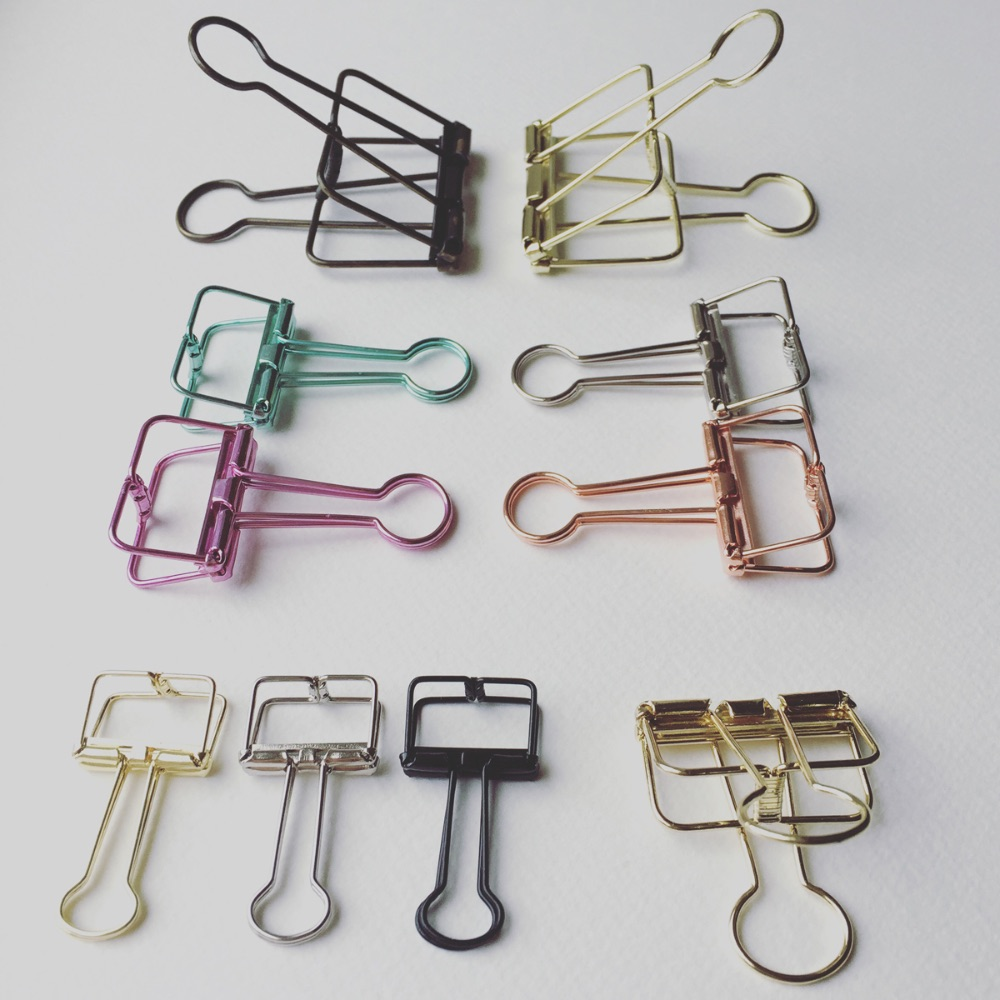 09. Binder Clips, Paper Clips, ALL the clips
