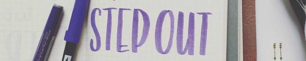 Step Out in Faith Hand Lettering | Grace & Salt ink