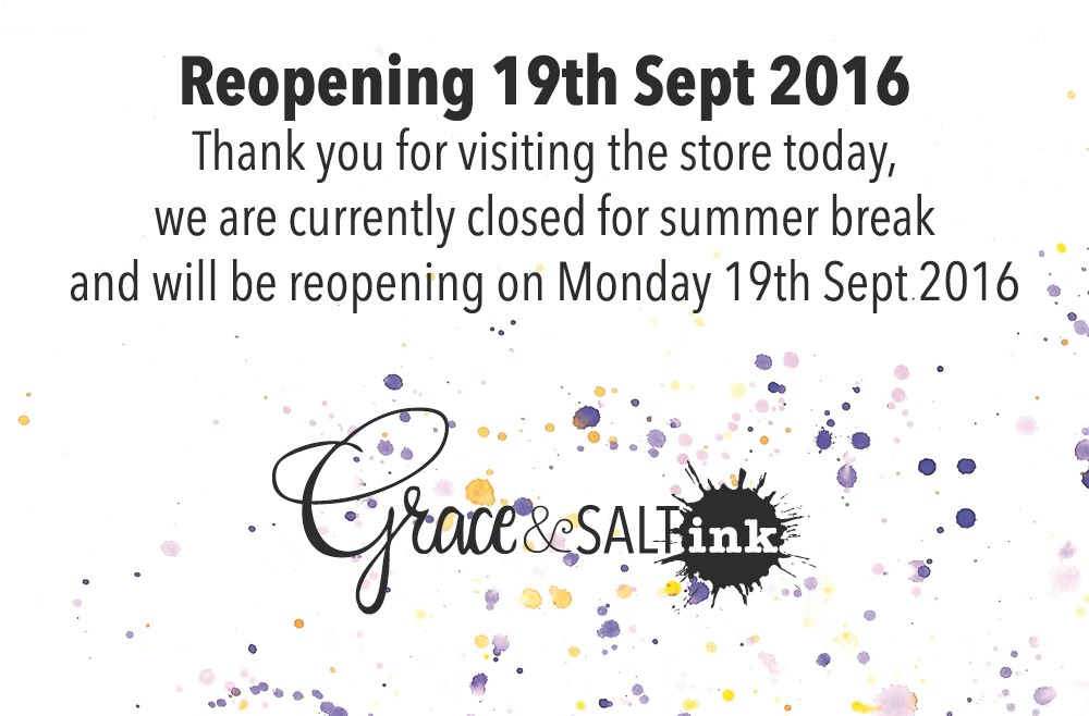 Reopening 19th September 2016