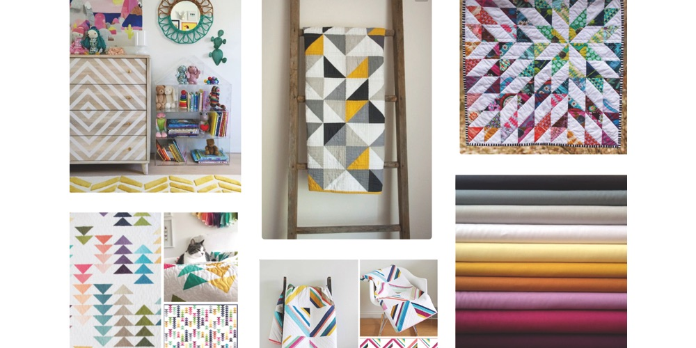 Quilting Moodboard | Quilt Design Inspiration